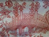 Oriental Toile - Rouge